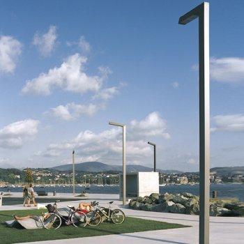 trapezium aluminium decoratieve mast